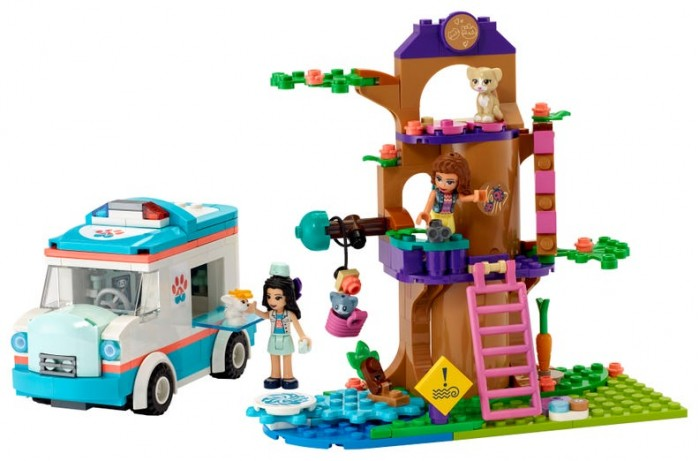 Конструктор Lego Friends 41445 Лего Подружки Машина скорой ветеринарной помощи