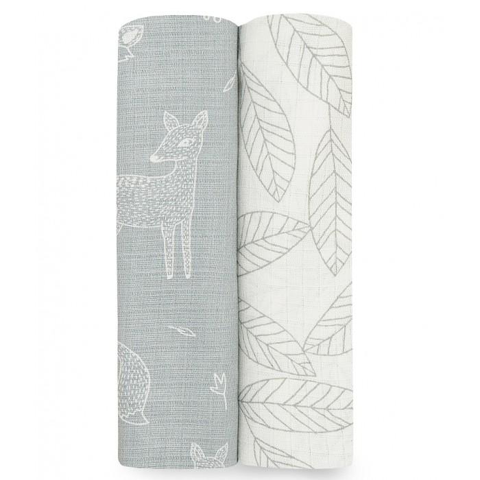 Купить Пеленки, Пеленка Aden&Anais бамбуковая Woodsy 112х112 2 шт.