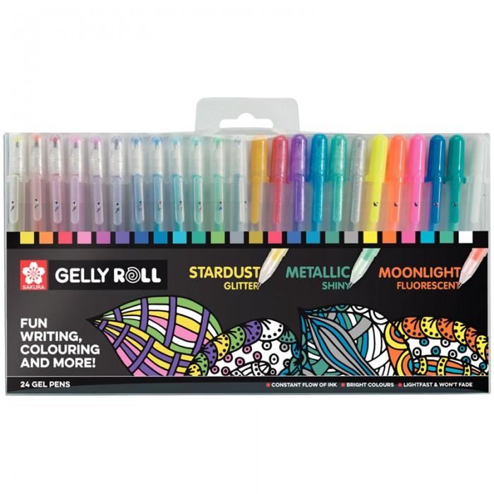 Ручки Sakura Набор гелевых ручек Gelly Roll 24 шт.