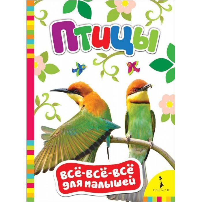 Книжки-картонки Росмэн Книжка Птицы книжки картонки росмэн книжка енот