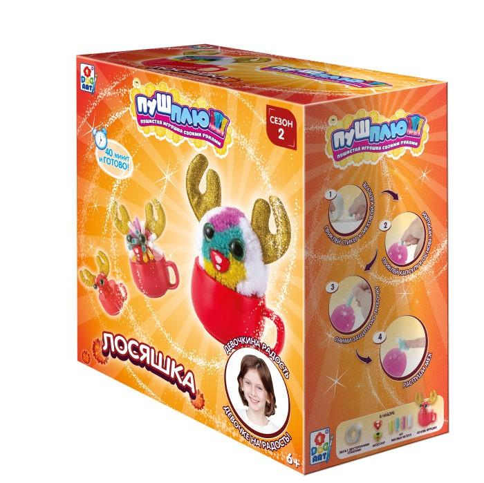 Наборы для творчества 1 Toy Пуш-Плюш Набор для творчества Лосяшка