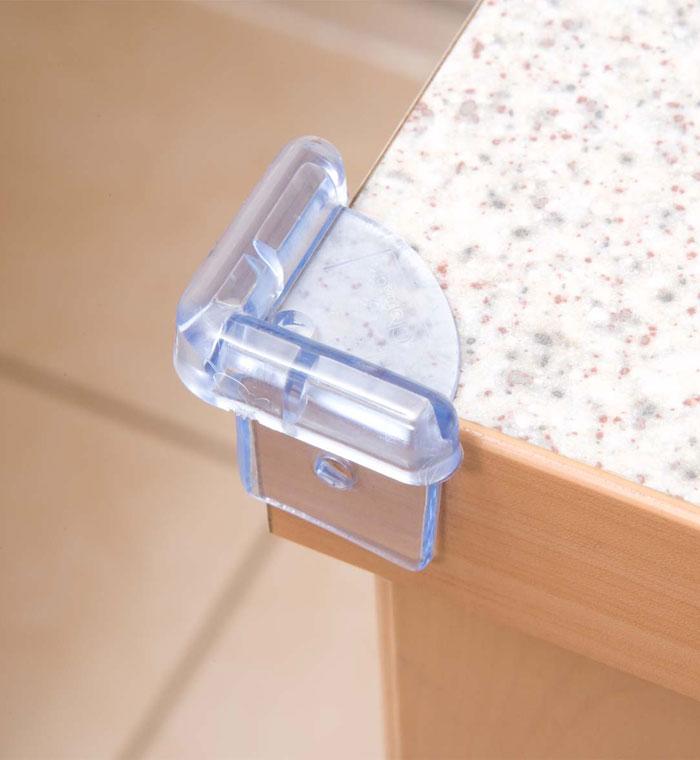 Блокирующие устройства Clippasafe Защита на углы 4 шт. защита clippasafe защитный замок для створчатой двери clippasafe cl72