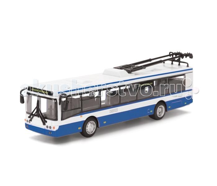 Машины Технопарк Троллейбус машинки технопарк грузовик технопарк металлический инерционный 12 см