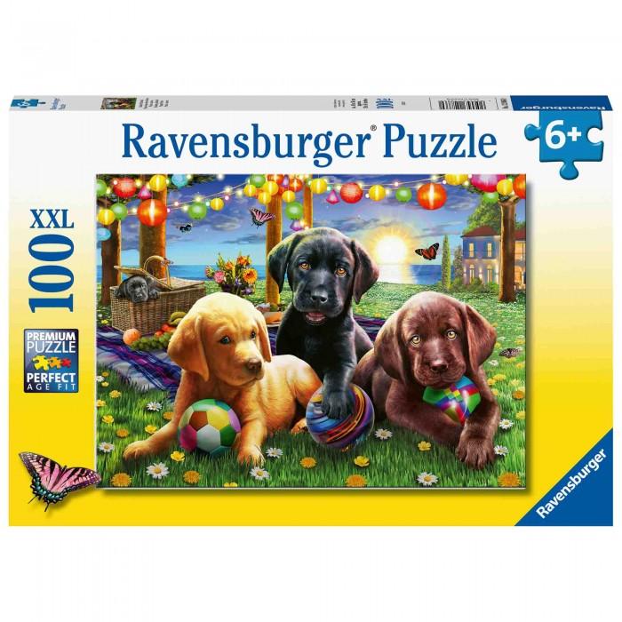 Купить Пазлы, Ravensburger Пазл Пикник щенят (200 элементов)