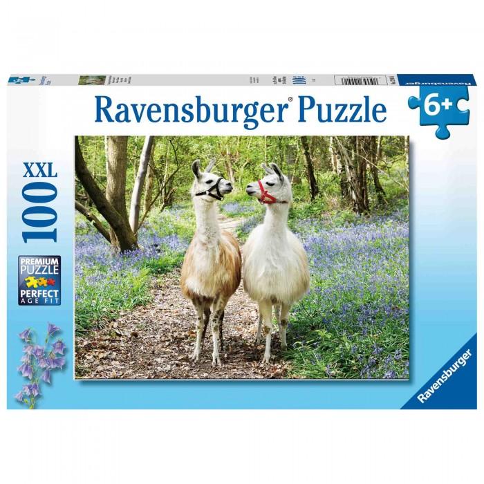 Купить Пазлы, Ravensburger Пазл Ламы (100 элементов)