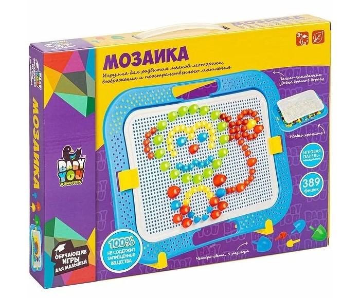 Фото - Мозаика Bondibon Мозаика для малышей с подставкой (389 деталей) мозаика для малышей более 220 деталей baby you bondibon евро упак bondibon вв5027