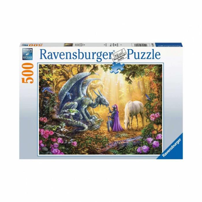Купить Пазлы, Ravensburger Пазл Дракон Фантазия (500 элементов)