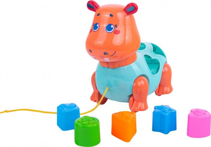 Каталки-игрушки Happy Snail Бегемот Бубба