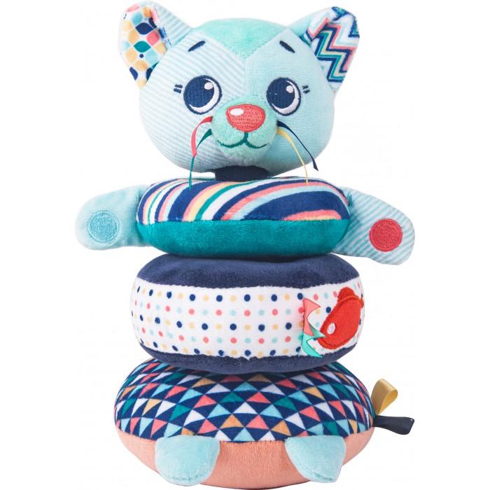 Купить Развивающие игрушки, Развивающая игрушка Happy Snail Пирамидка Котик Дарси