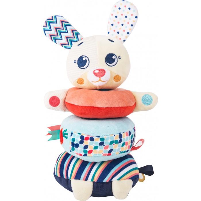 Развивающие игрушки Happy Snail Пирамидка Зайка Лаки