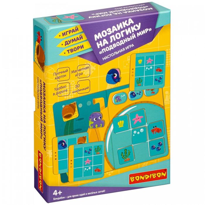 Купить Настольные игры, Bondibon Настольная игра мозаика на логику Подводный мир