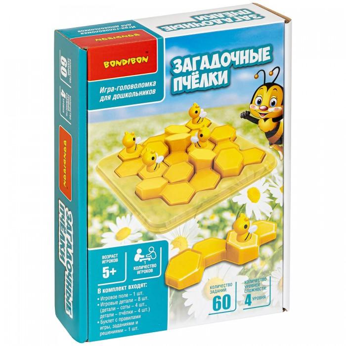 Купить Настольные игры, Bondibon Игра-головоломка Загадочные пчёлки