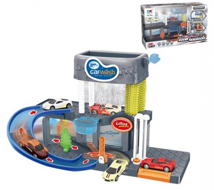 Машины Наша Игрушка Игровой набор Автомойка 200633712