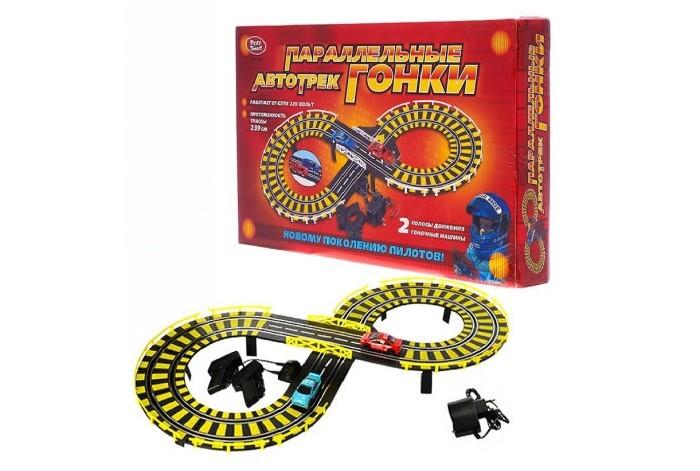 Машины Play Smart Игровой набор Автотрек на электропитании 239 см