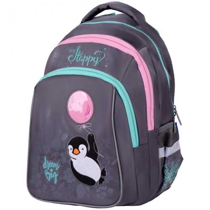 Школьные рюкзаки Berlingo Рюкзак Comfort Cute Penguin 38х27х18 см школьные рюкзаки berlingo рюкзак comfort next level 38х27х18 см