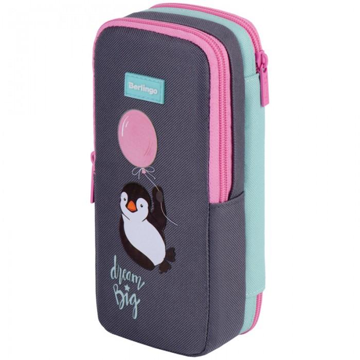 Пеналы Berlingo Пенал Cute Penguin 2 отделения
