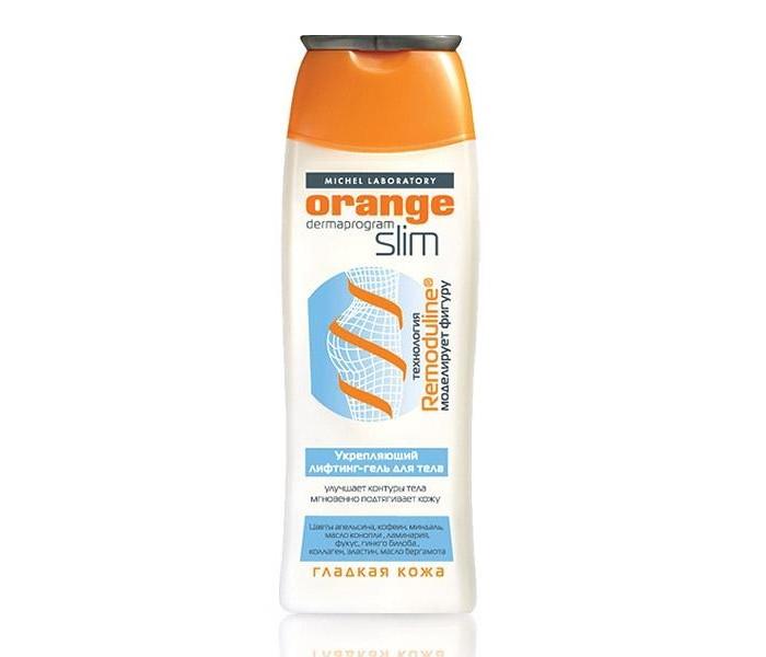 Косметика для мамы Orange Slim Лифтинг-гель укрепляющий для тела 200 мл  косметика для мамы orange slim крем гель экстра сжигатель жира 200 мл