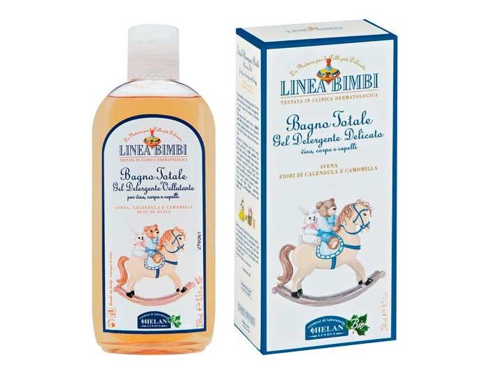 Косметика для новорожденных Helan Пена-шампунь Linea Bimbi для ванны Купание без слез 250 мл