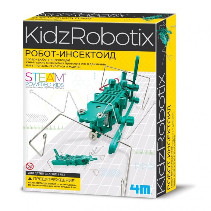 Купить Наборы для опытов и экспериментов, 4М Робот инсектоид