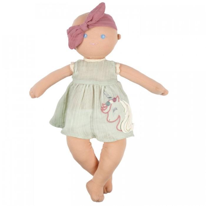 Мягкая игрушка Bonikka Кукла из органического хлопка Kaia 42 см