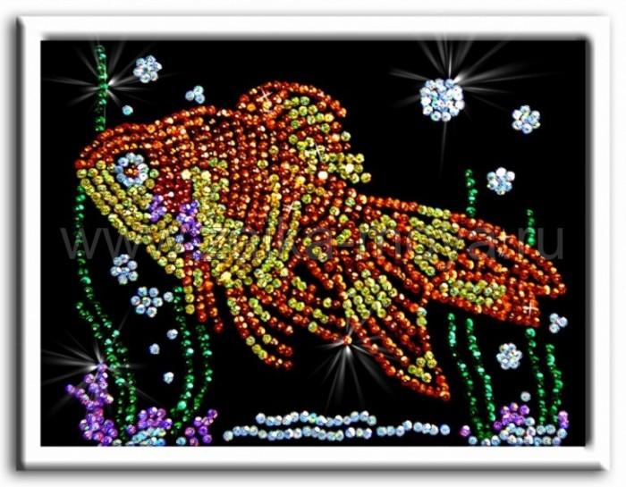 Наборы для творчества Волшебная мастерская Мозаика из пайеток Золотая рыбка наборы для творчества волшебная мастерская мозаика из пайеток лисичка