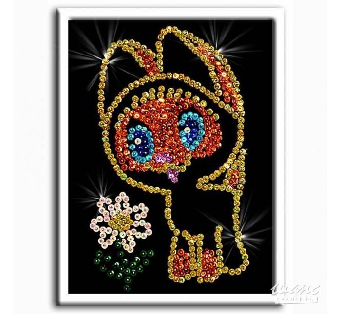 Наборы для творчества Волшебная мастерская Мозаика из пайеток Котенок волшебная мастерская мозаика из пайеток 3d мышка