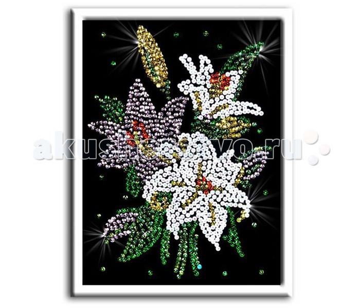 Наборы для творчества Волшебная мастерская Мозаика из пайеток Лилии волшебная мастерская мозаика из пайеток золотая рыбка