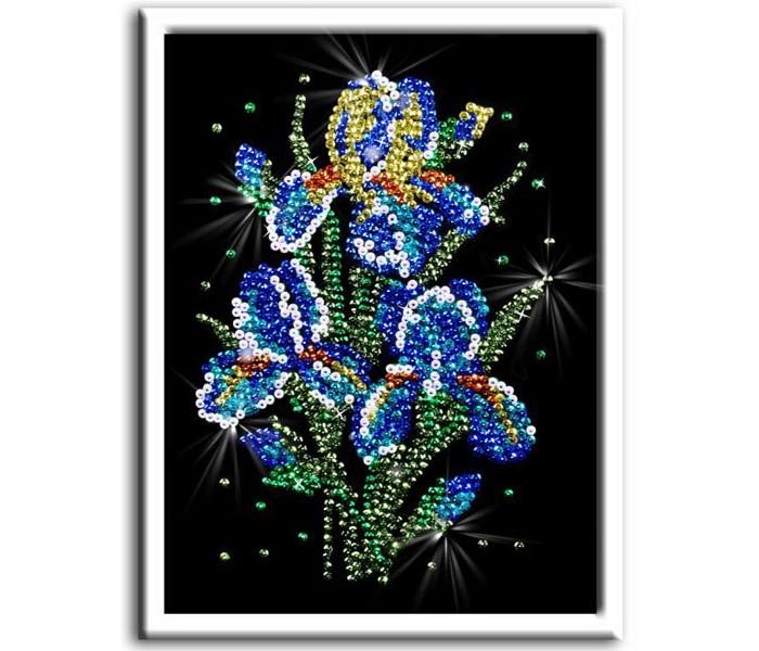 Наборы для творчества Волшебная мастерская Мозаика из пайеток Ирисы наборы для творчества волшебная мастерская мозаика из пайеток петушок