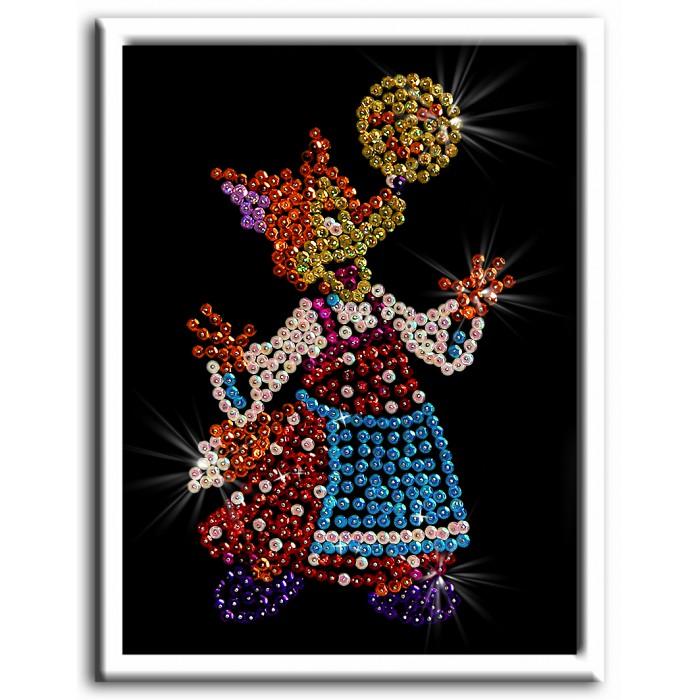 Наборы для творчества Волшебная мастерская Мозаика из пайеток Лисичка кружка pin up collection с силиконовой крышкой 350 мл 28321