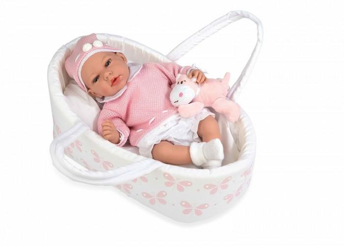 Куклы и одежда для кукол Arias Elegance Кукла Andie в люльке-переноске 38 см