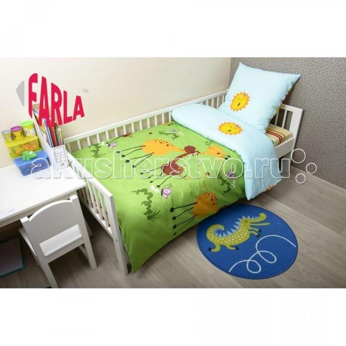 Постельное белье Farla Giraffe 170х80 (5 предметов)