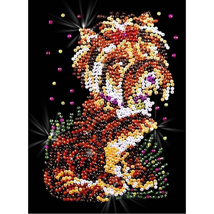 Наборы для творчества Волшебная мастерская Мозаика из пайеток Терьер мозаика из пайеток волшебная мастерская божья коровка 48363