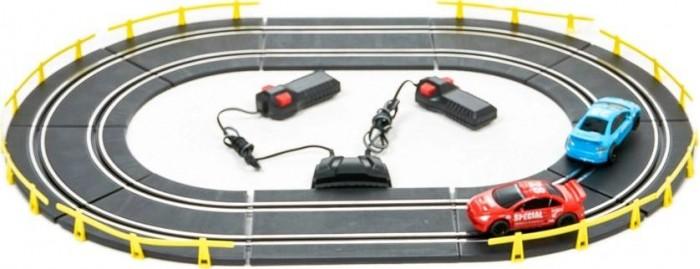 Машины Play Smart Детский игровой набор Автотрек Параллельные горки