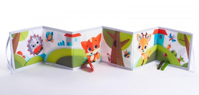 Книжки-игрушки Tiny Love Книжка раскладная Солнечная полянка tiny love солнечная полянка