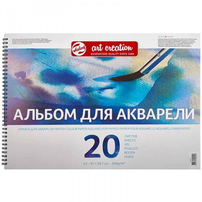 Купить Принадлежности для рисования, Royal Talens Альбом для акварели Art Creation на гребне А3 200 г/м. 20 листов