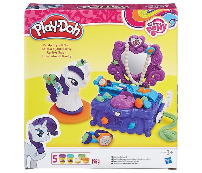 Всё для лепки Play-Doh Туалетный столик Рарити набор для лепки play doh сладкий завтрак 6 цветов b9739