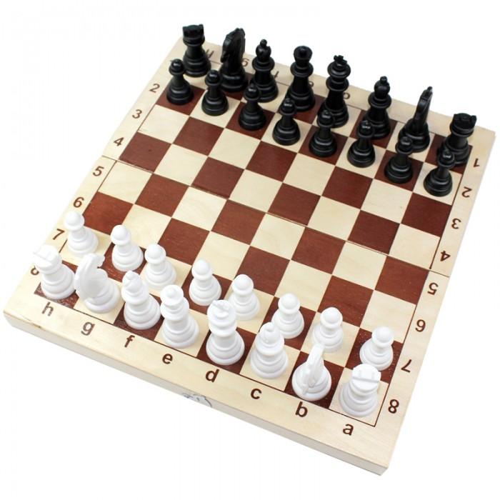 Настольные игры Десятое королевство Игра настольная Шахматы и шашки походные настольные игры наша игрушка настольная игра шахматы шашки 2 в 1