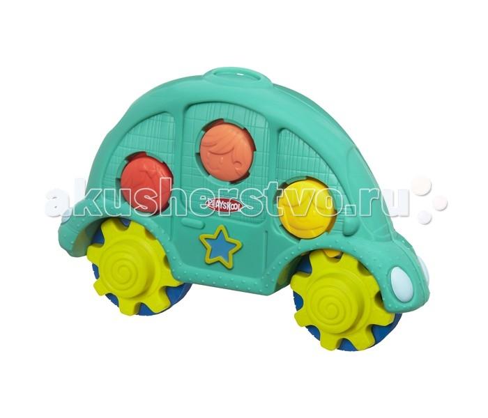 Развивающие игрушки Playskool Машинка и шестеренки развивающие игрушки playskool пирамидка львенок