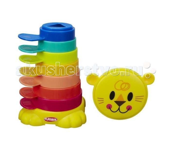 Развивающие игрушки Playskool Пирамидка-львенок развивающие игрушки playskool пирамидка львенок