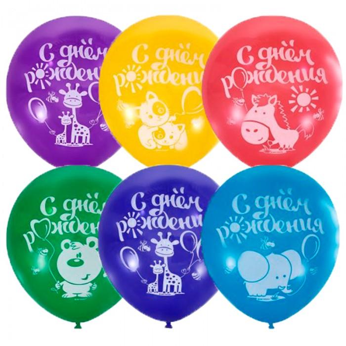 Товары для праздника Поиск Воздушные шары С Днем Рождения 100 шт.