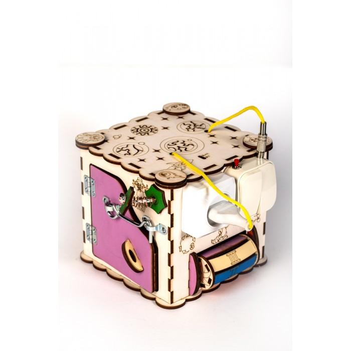 Деревянная игрушка MyLandToys Куб с электрикой №16