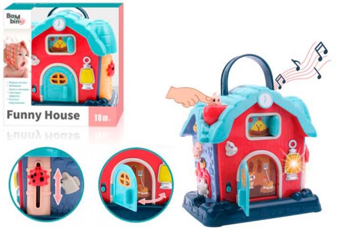 Купить Электронные игрушки, Bambini Музыкальный домик