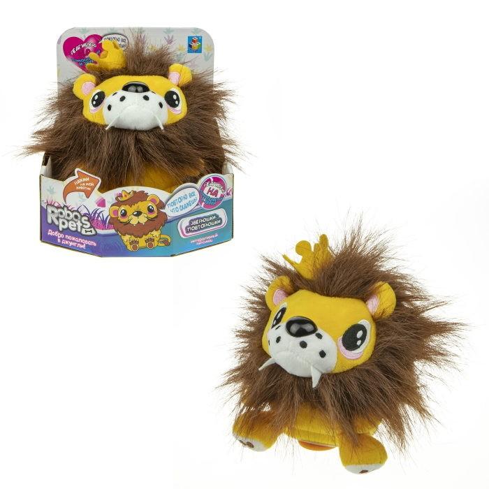 интерактивные игрушки Интерактивные игрушки 1 Toy RoboPets Повторюшка Львенок