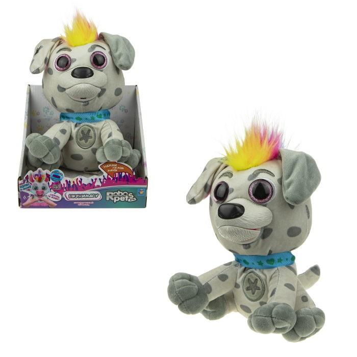 Интерактивные игрушки 1 Toy RoboPets пёс Рокси