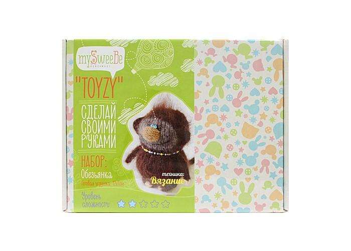 Наборы для творчества ToyzyKit Набор для вязания Обезьянка TZ-K006 набор для вязания toyzy кот грустик tz k001