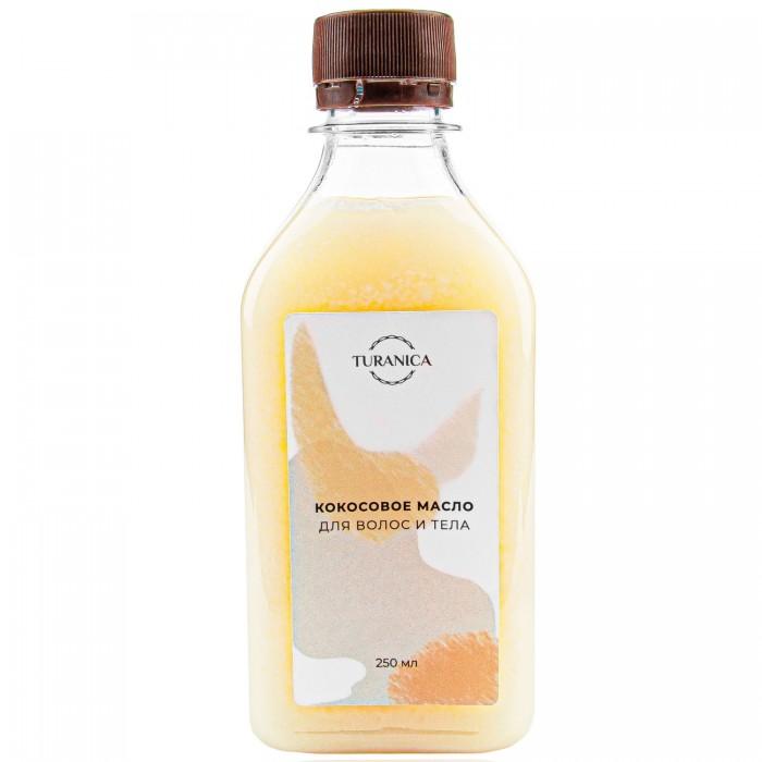 Фото - Косметика для мамы Turanica Кокосовое масло для волос и тела 250 мл косметика для мамы logona восстанавливающее масло для волос 75 мл
