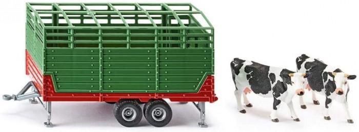 Машины Siku Прицеп для перевозки скота