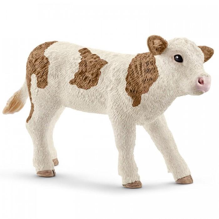 Картинка для Schleich Игровая фигурка Симментальский теленок