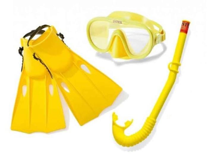 Купить Аксессуары для плавания, Intex Комплект для плавания Master Class Swim Set