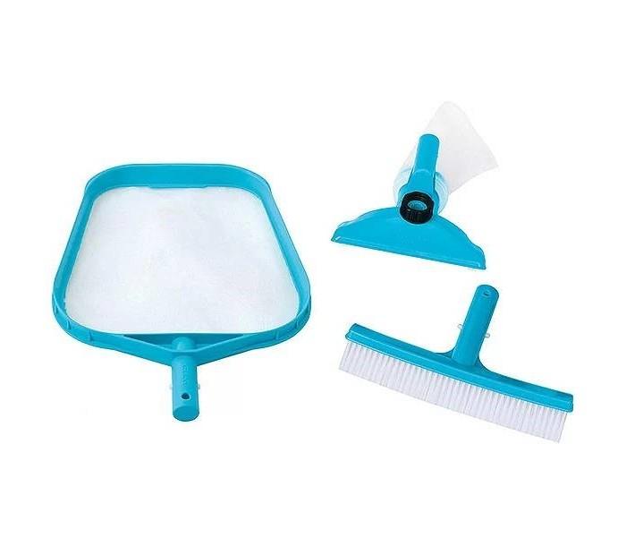 Intex Набор для чистки бассейна: скиммер, вакуумная насадка, щетка